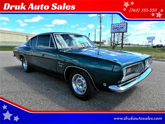 1968 Plymouth Barracuda (CC-1467786) for sale in Ramsey, Minnesota
