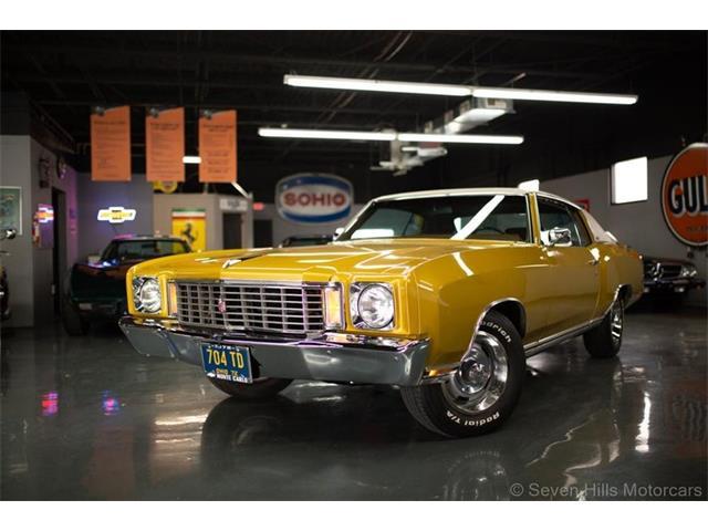 1972 Chevrolet Monte Carlo (CC-1467806) for sale in Cincinnati, Ohio