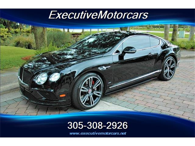 2017 Bentley Continental GT V8 S (CC-1467942) for sale in Miami, Florida