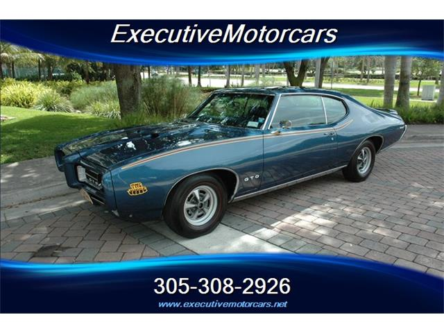 1969 Pontiac GTO (The Judge) (CC-1467943) for sale in Miami, Florida