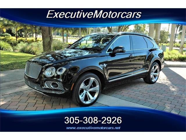 2018 Bentley Bentayga (CC-1467948) for sale in Miami, Florida