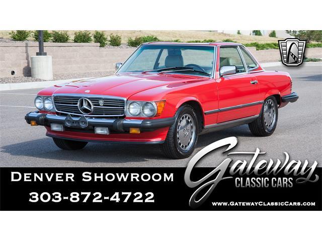 1989 Mercedes-Benz 560SL (CC-1467992) for sale in O'Fallon, Illinois
