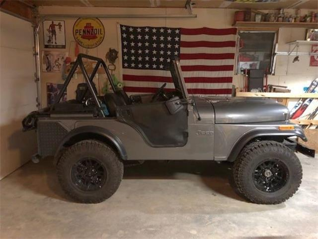 1973 Jeep CJ5 (CC-1468059) for sale in Cadillac, Michigan