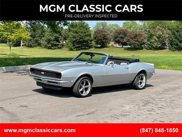 1968 Chevrolet Camaro (CC-1468155) for sale in Addison, Illinois
