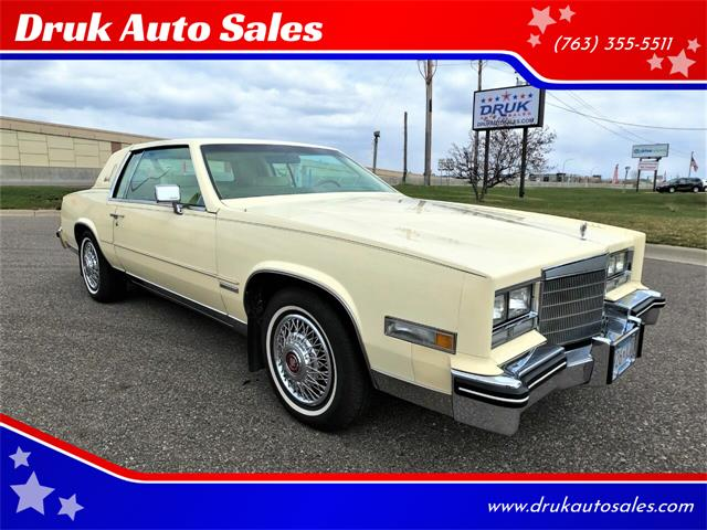 1983 Cadillac Eldorado (CC-1468183) for sale in Ramsey, Minnesota