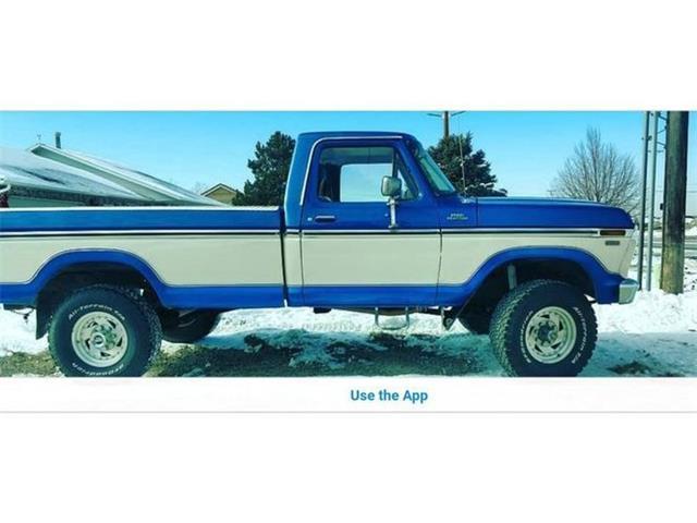 1977 Ford F250 (CC-1460826) for sale in Cadillac, Michigan