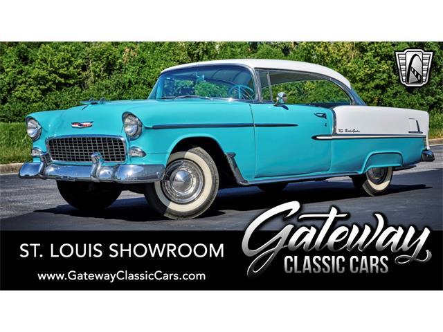 1955 Chevrolet Bel Air (CC-1468321) for sale in O'Fallon, Illinois