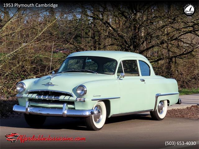 1953 Plymouth Cambridge (CC-1468384) for sale in Gladstone, Oregon