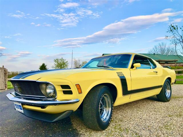 1970 Ford Mustang Boss 302 (CC-1468564) for sale in Knightstown, Indiana