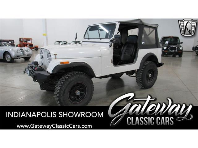 1986 Jeep CJ7 (CC-1468585) for sale in O'Fallon, Illinois