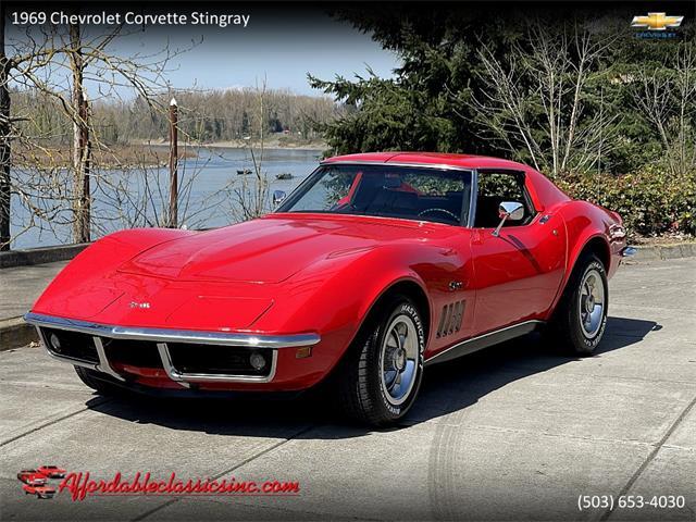 1969 Chevrolet Corvette Stingray (CC-1468691) for sale in Gladstone, Oregon