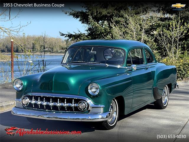 1953 Chevrolet Business Coupe (CC-1468695) for sale in Gladstone, Oregon