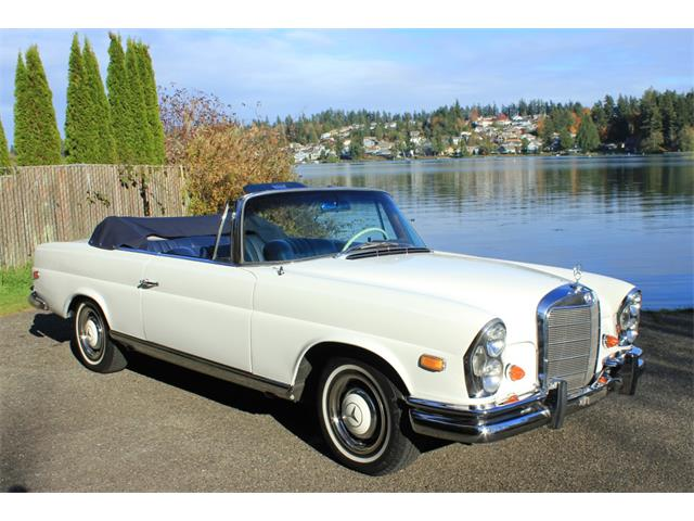 1966 Mercedes-Benz 250SEC (CC-1468703) for sale in Tacoma, Washington