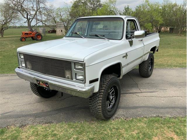 1983 Chevrolet C/K 10 (CC-1468799) for sale in Fredericksburg, Texas