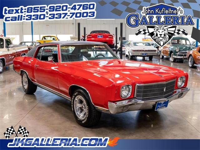 1970 Chevrolet Monte Carlo (CC-1468904) for sale in Salem, Ohio