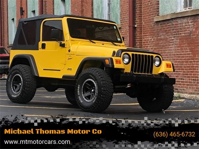 2000 Jeep Wrangler (CC-1468909) for sale in Saint Charles, Missouri