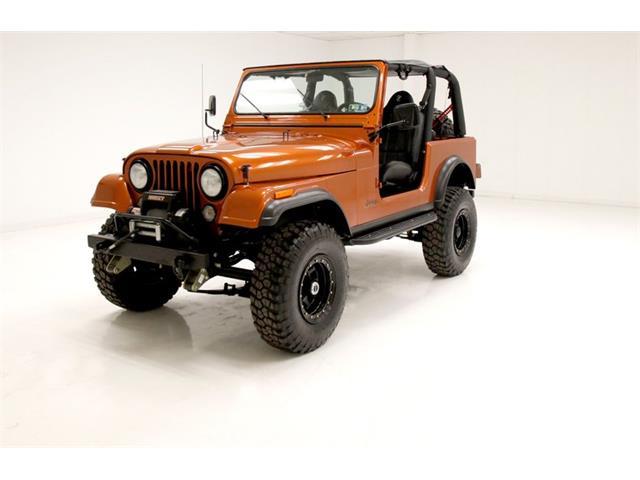 1982 Jeep CJ7 (CC-1469032) for sale in Morgantown, Pennsylvania