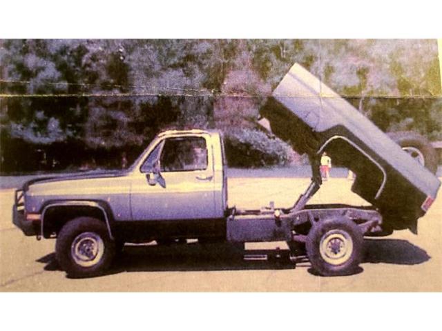 1986 Chevrolet K-20 (CC-1469111) for sale in Cadillac, Michigan