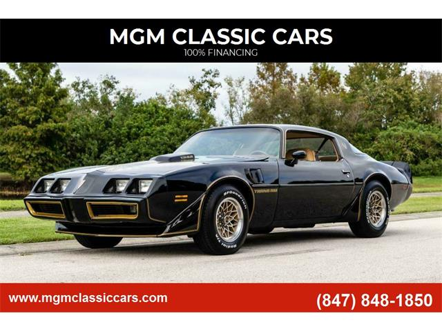 1979 Pontiac Firebird Trans Am (CC-1469138) for sale in Addison, Illinois