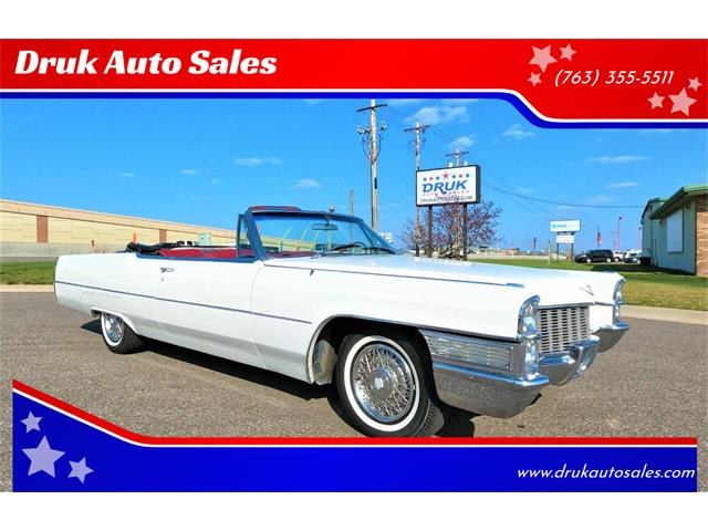 1965 Cadillac DeVille (CC-1469154) for sale in Ramsey, Minnesota