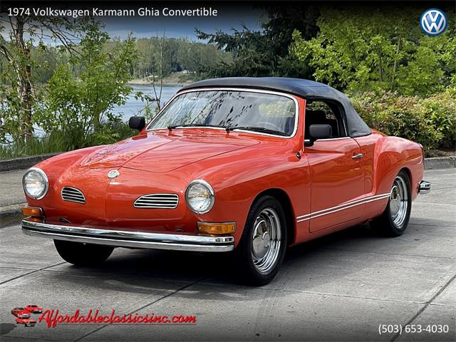 1974 Volkswagen Karmann Ghia (CC-1469156) for sale in Gladstone, Oregon