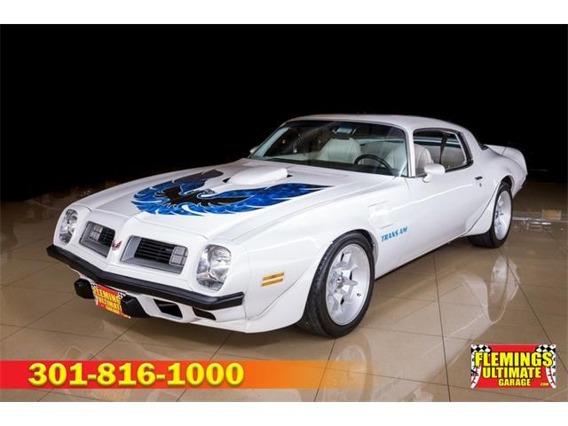 1975 Pontiac Firebird Trans Am (CC-1469187) for sale in Rockville, Maryland