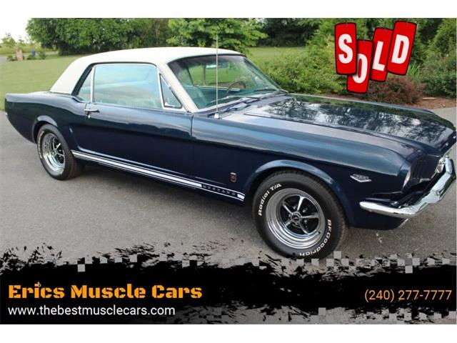 1966 Ford Mustang (CC-1469197) for sale in Clarksburg, Maryland