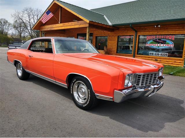 1972 Chevrolet Monte Carlo (CC-1469258) for sale in Goodrich, Michigan