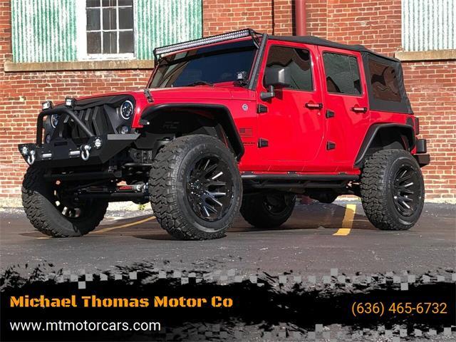 2008 Jeep Wrangler (CC-1469338) for sale in Saint Charles, Missouri