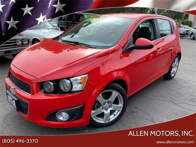 2015 Chevrolet Sonic (CC-1469344) for sale in Thousand Oaks, California