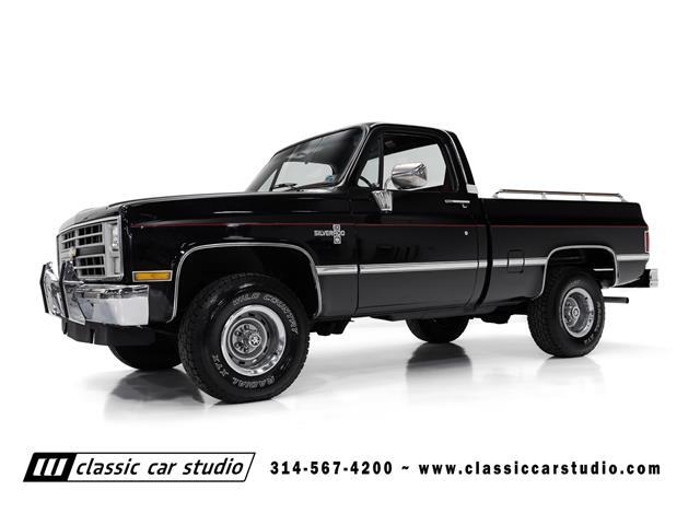 1986 Chevrolet K-10 (CC-1469657) for sale in saint louis, Missouri