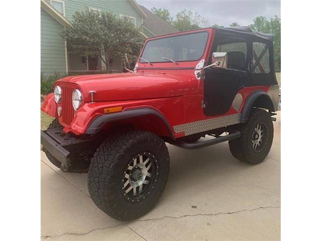 1974 Jeep CJ5 (CC-1469680) for sale in Moore, Oklahoma