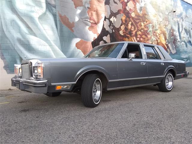1984 Lincoln Town Car (CC-1469699) for sale in Norway, Michigan