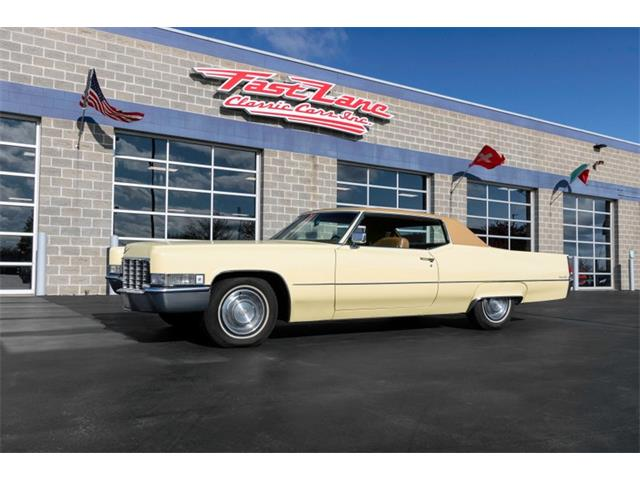 1969 Cadillac Coupe (CC-1469779) for sale in St. Charles, Missouri