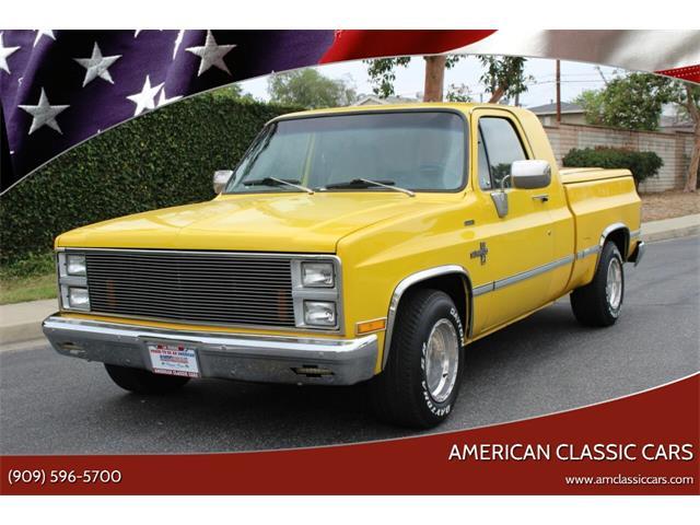1981 Chevrolet C/K 10 (CC-1469780) for sale in La Verne, California