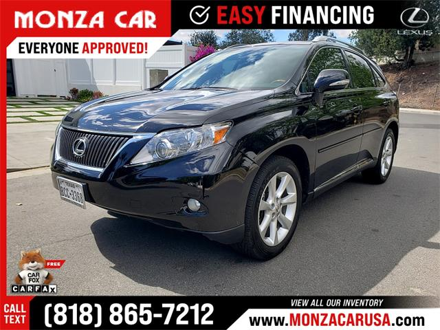 2010 Lexus RX350 (CC-1469885) for sale in Sherman Oaks, California