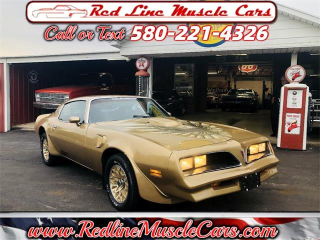 1978 Pontiac Firebird Trans Am (CC-1469933) for sale in Wilson, Oklahoma