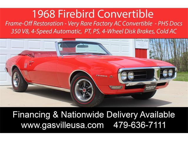 1968 Pontiac Firebird (CC-1471036) for sale in Rogers, Arkansas