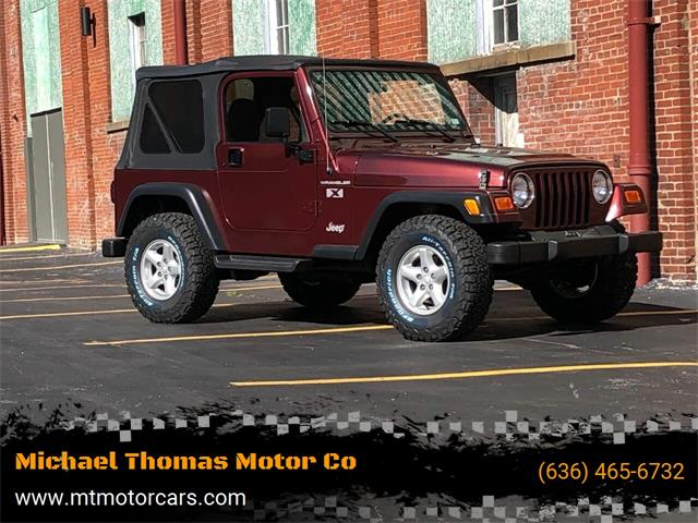 2002 Jeep Wrangler (CC-1471112) for sale in Saint Charles, Missouri