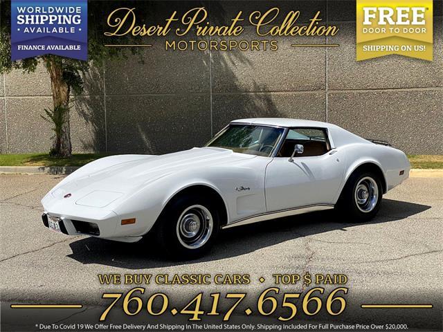 1976 Chevrolet Corvette Stingray (CC-1471135) for sale in Palm Desert , California