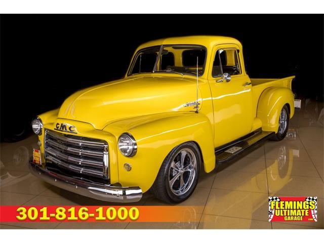 1951 GMC 5-Window Pickup (CC-1471147) for sale in Rockville, Maryland