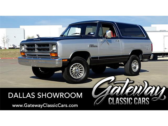 1987 Dodge Ramcharger (CC-1470118) for sale in O'Fallon, Illinois