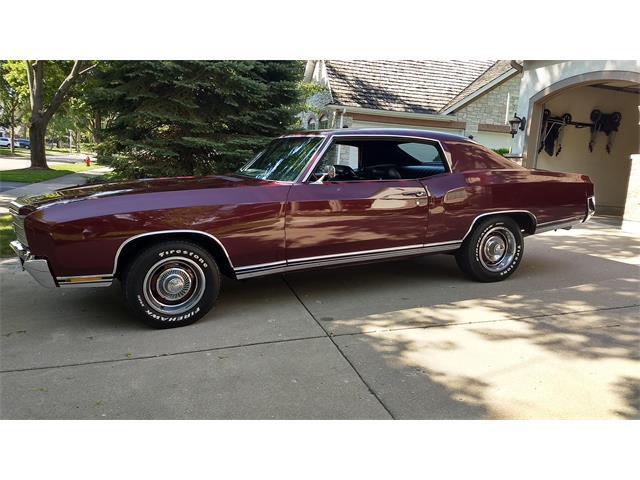 1970 Chevrolet Monte Carlo (CC-1471240) for sale in Vernon Hills, Illinois