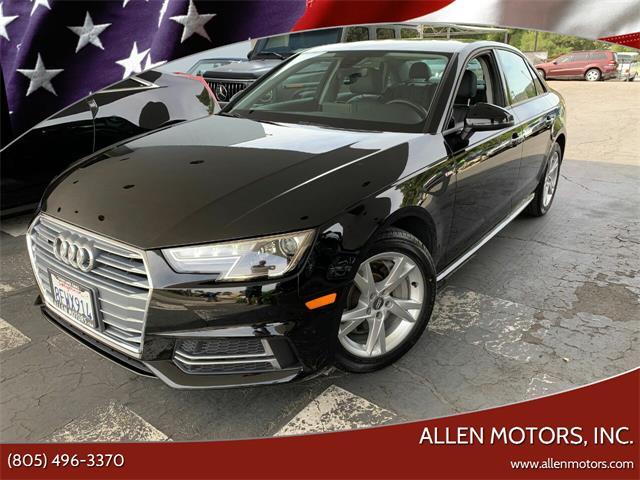 2018 Audi A4 (CC-1471303) for sale in Thousand Oaks, California
