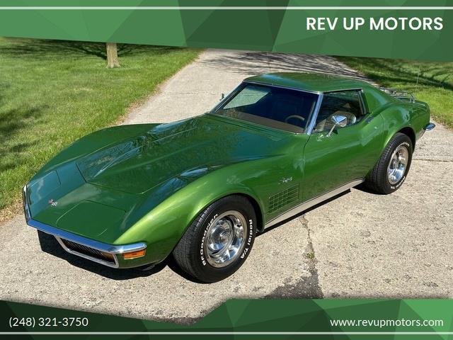 1972 Chevrolet Corvette (CC-1471366) for sale in Shelby Township, Michigan