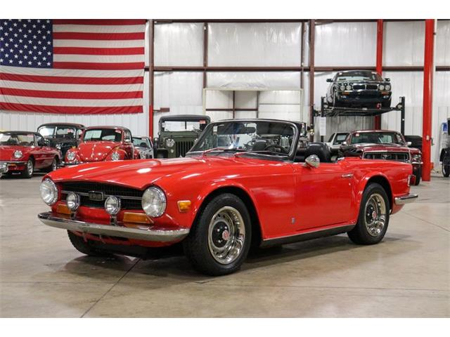1972 Triumph TR6 (CC-1471490) for sale in Kentwood, Michigan