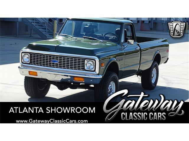 1972 Chevrolet K-10 (CC-1471495) for sale in O'Fallon, Illinois