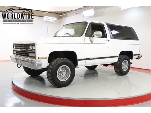 1989 Chevrolet Blazer (CC-1471508) for sale in Denver , Colorado