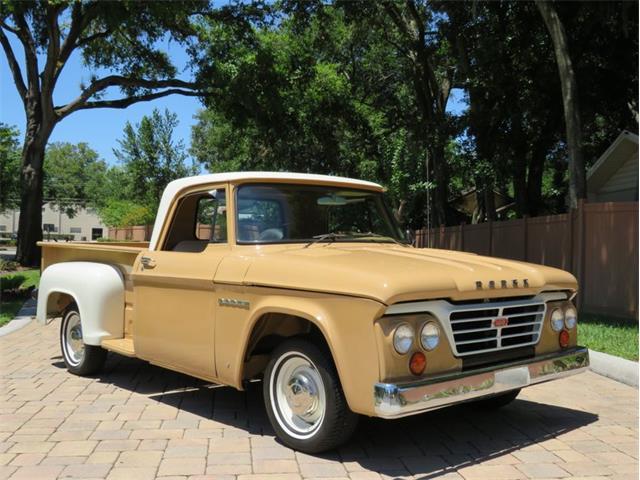 1962 Dodge D100 (CC-1471555) for sale in Lakeland, Florida