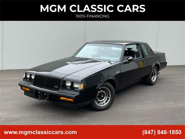 1987 Buick Grand National (CC-1471559) for sale in Addison, Illinois